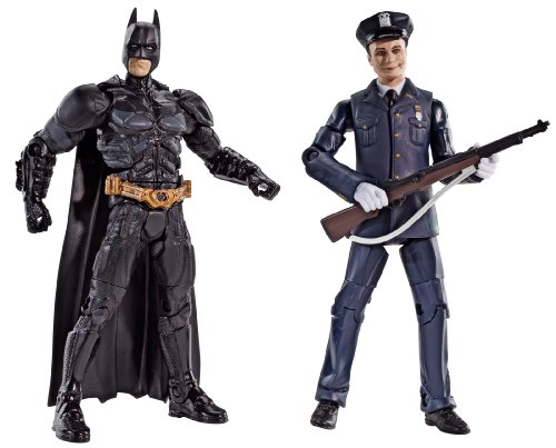 Batman Legacy The Dark Knight Batman And Police Honor Guard Joker Collector Figure 2-Pack
