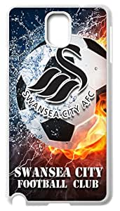 Swansea City Logo Phone Shell Cover Case for Samsung Galaxy Note 3 N9000