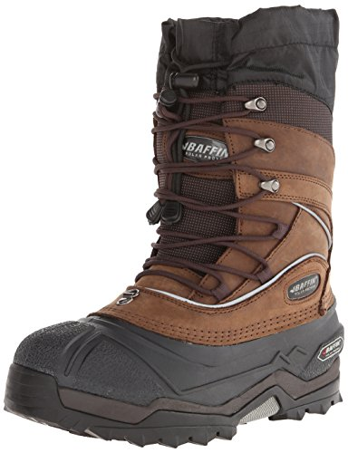 Baffin Men's Snow Monster Insulated All-Weather Boot,Worn Brown,9 D US