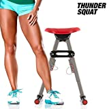 Thunder Squat Exercise Machine, buttocks, Quads And Calf Muscles by ASI