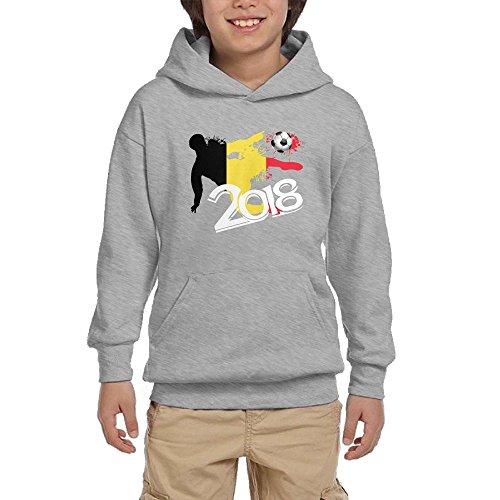 Top 2018 Football Match Belgium Youth Pullover Hoodies Hip Hop Pockets Sweatsuit supplier