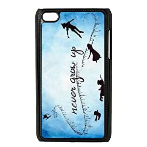 Ipod Touch 4 Cases Cell phone Case Never Grow Up Otocl Plastic Durable Cover