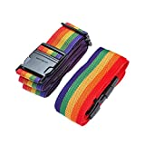 Adjustable Travel Luggage Strap Packing Belt Suitcase Baggage Security Straps