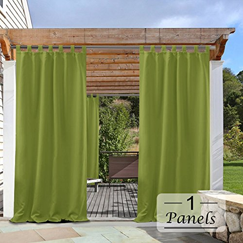 PONY DANCE Outdoor Curtain Panels - 84