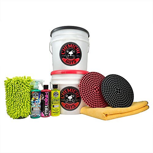 - Chemical Guys HOL129 Best Two Bucket Wash and Dry Kit (11 Items), 16 fl. oz, 11 Pack