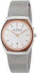 Skagen Women's SKW2051 Asta Stainless Steel Watch with Crystal-Set Subdial
