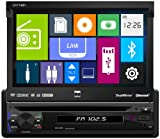 Dual DV714BH In-Dash Single DIN DVD/MP3/USB Car Stereo Receiver w/Built-In Bluetooth and