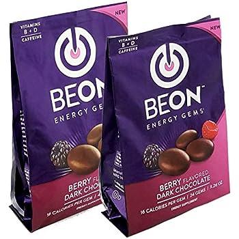 Amazon Com Beon Energy Boost Gems Energems Berry Dark