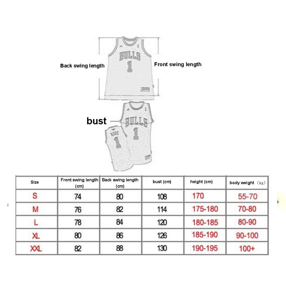 Basketball f/ür M/änner und Unisex Basket Anzug T-Shirt Gen/ähte Buchstaben Wei/ß Klassisches /ärmelloses Set CYGG New Orleans Pelikane Zion Lateef Williamson # 1 Trikot