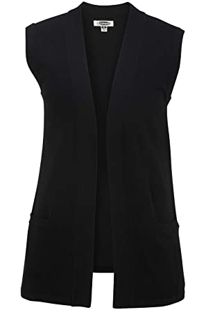 04246a7f63 Edwards Ladies  Open Cardigan Sweater Vest at Amazon Women s Clothing store
