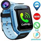 Kids Phone Smart Watch for 3-12 Year Old Boys Girls with GPS Tracker Locator Pedometer Fitness...