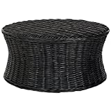 Cheap Safavieh Home Collection Ruxton Ottoman, Black