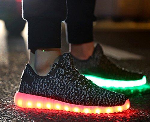 Tokee Unisex Charging Luminous Sneakers