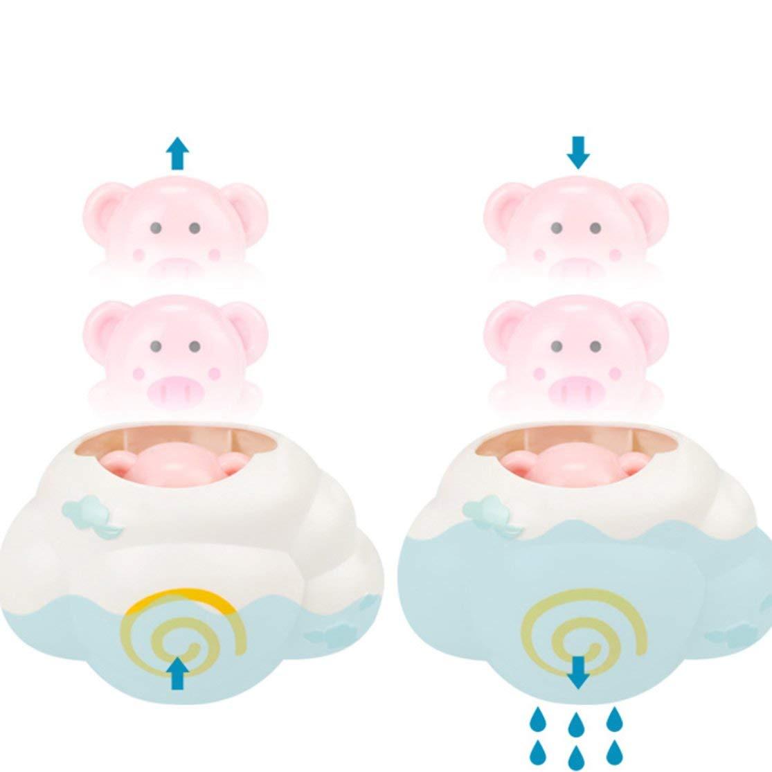 LouiseEvel215 Creativo Bambino Doccia Acqua spruzzando Doccia Giocattolo per Bambini Vasca da Bagno Giocattolo Bambini Tempo Bagno Gioco Giocattoli per Il Bagno