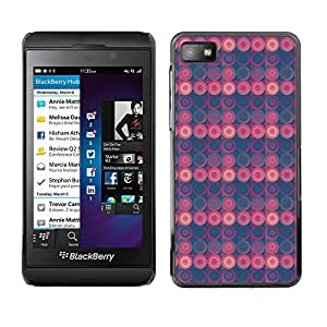 ZECASE Funda Carcasa Tapa Case Cover Para Blackberry Z10 No.0000112