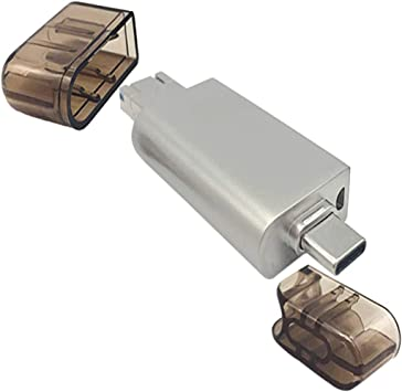 H HILABEE Lector De Tarjetas, 5-en-1 USB2.0 / USB C/Lector De ...