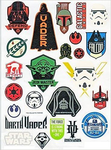 79d97639a Amazon.com: Star Wars Temporary Tattoos (0844331098486): Books