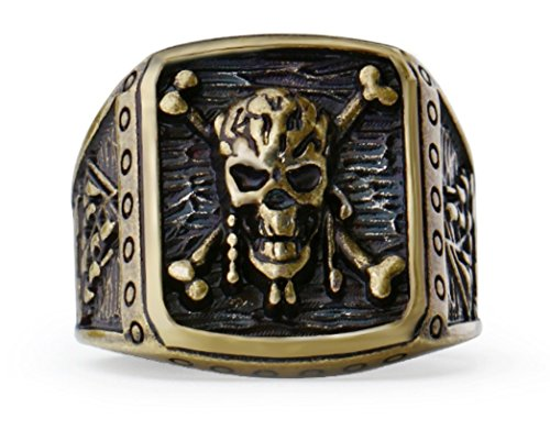 Pirates of the Caribbean Jack Sparrow Skull Bronze for sale  Delivered anywhere in USA