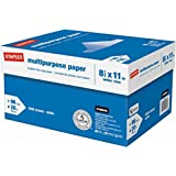 "Staples stpales500copy Multipurpose Inkjet & Laser Paper, 8.5 X 11"", 5000 Sheets/Case Carton"