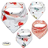 Pet Dog Cat Bandana Bibs Triangle Scarfs Adjustable Kerchief Assortment Hankies with Soft Cotton Material for Puppy Dog and Pet Cat (rose)