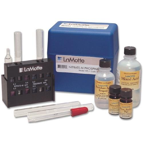 LaMotte 3119-01 Model NPL Nitrate-N and Phosphate in Water Test Kit, Low Range Comparator ()
