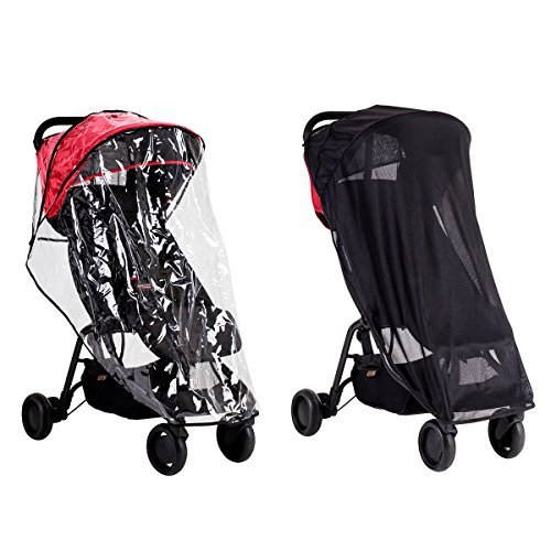 Used, Mountain Buggy Nano All Weather Cover Set Includes for sale  Delivered anywhere in USA