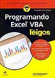 capa de Programando Excel Vba Para Leigos