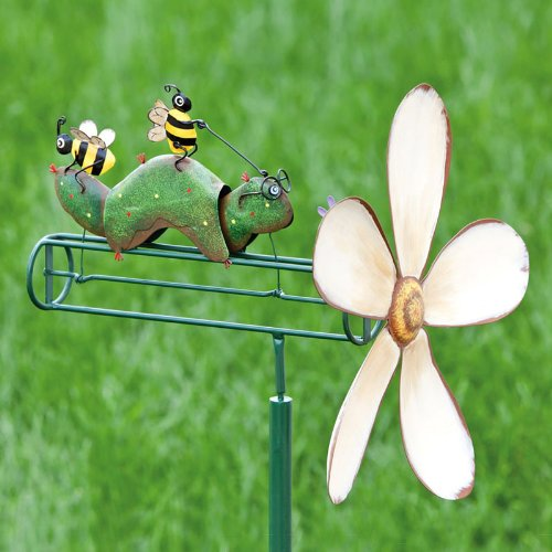 Caterpillar Ride Wind Spinner