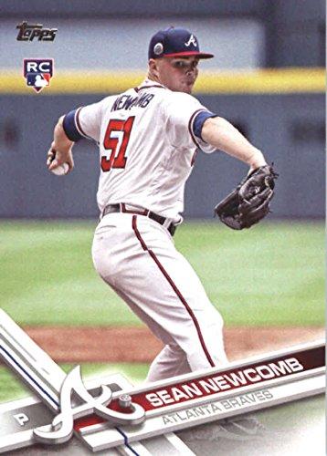 2017 Update Series #US162 Sean Newcomb Atlanta Braves Baseball Rookie Card