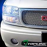 yukon denali fog lights xenon - Topline Autopart 10000K Hid Xenon+Chrome Led Head Lights Amber Aw 99+ Gmc Sierra/00+ Yukon Denali