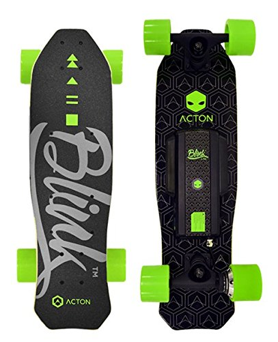Price comparison product image ACTON BLINK Lite | World's Lightest Electric Skateboard | Ride Up To 5 Miles On A Single Charge | 10 MPH Top Speed | Bluetooth Remote Control Included | Track Speed & Distance