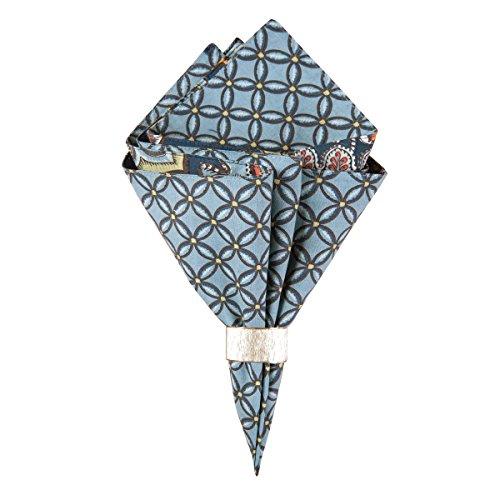(C&F Home, Middleton Pattern by April Cornell, Reversible Cloth Napkin - Single Napkin )