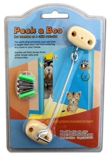 Peek a Boo - Keep Your Dog Out of the Kitty Litter