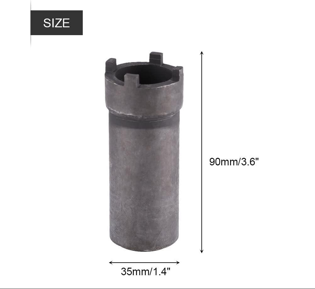 Motorcycle GY6 Clutch Sleeve Anauto Motorbike GY6 Crankshaft Four Claws Clutch Nut Sleeve Socket Vehicle Repair Tools
