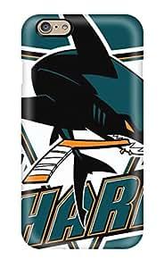 Pretty PQBvcYf14708BfrPj Iphone 6 Case Cover/ San Jose Sharks Hockey Nhl (46) Series High Quality Case