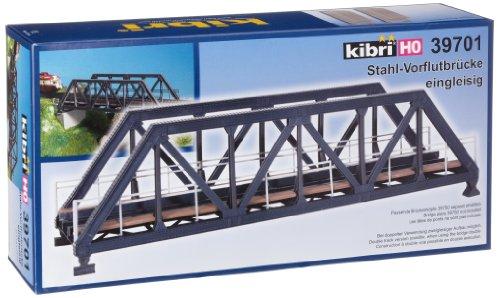 (Steel Truss Bridge w/o Bridgeheads - Single Track 27.5 x 8 x 7.5cm)