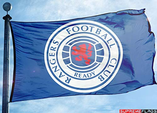 (Brand New Glasgow Rangers FC Flag 3x5 Banner Scotland Premier League)