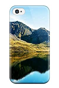 For Iphone 4/4s Phone Case Cover(swiss Alps Lake) 1797851K95403374