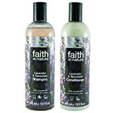 Faith In Nature Lavender and Geranium Shampoo and Conditioner Duo Pack