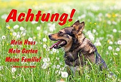 Cartello attenzione pavimento bagnato tedesco mix attenzione my