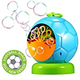Toys : Geekper Bubble Machine - Automatic Durable Bubble Blower for Kids Over 500 Bubbles per Minute for Outdoor or Indoor Use - Kid's Fun ( Blue )