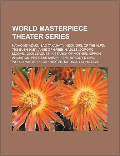world masterpiece theater series hayao miyazaki isao takahata the