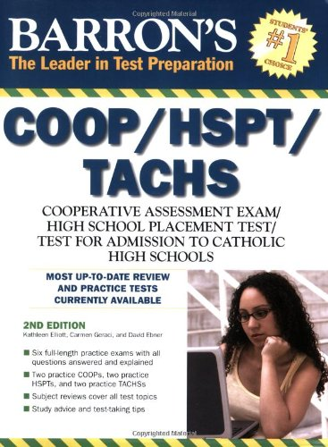 Barron's COOP/HSPT/TACHS (Barron's Painless)