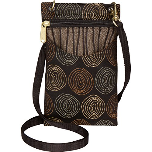 Danny K Women's Tapestry Crossbody Cell Phone or Passport Purse, Handmade in USA (Top 10 Best Buds)