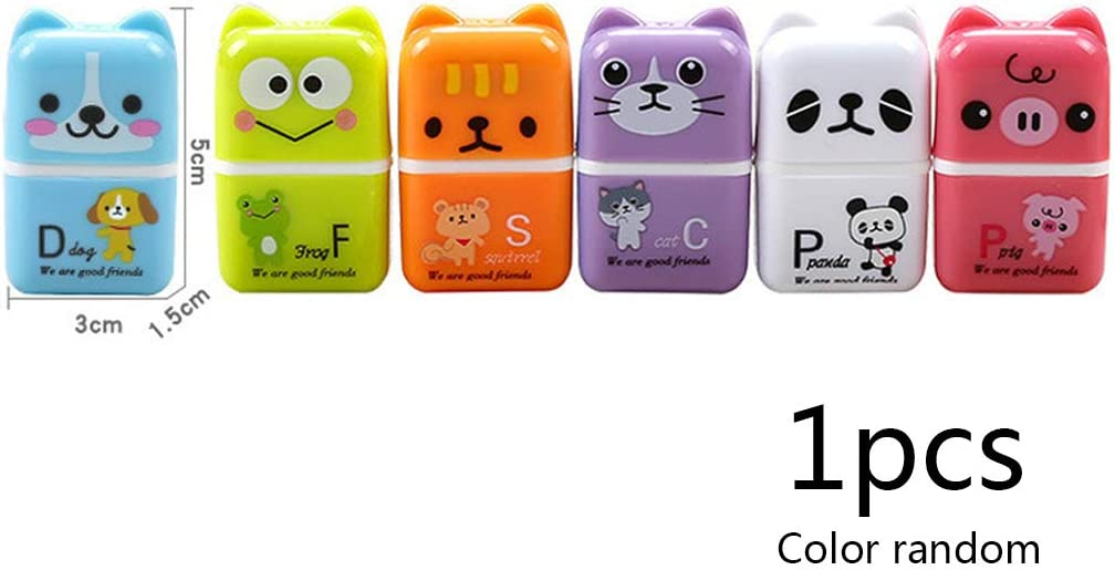 Ainany Novelty Roller Erasers Rubbers Eraser for School Kids Cute Animals Pattern Erasers