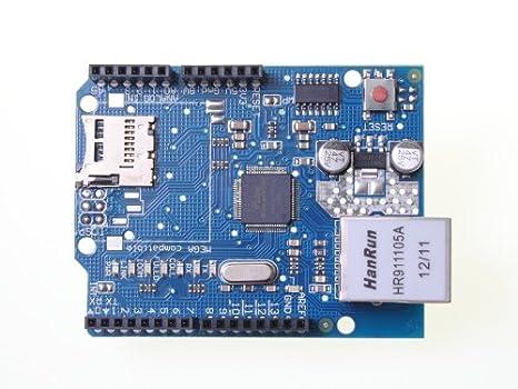 Placa con Ethernet Shield W5100 para Arduino UNO Mega 2560 ...