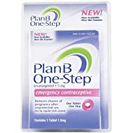 Plan B One-Step Emergency Contraceptive Tablet - 1 Tablet, Pack of 6