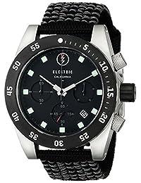 Electric Men's EW0030020001 DW01 Nato Band Analog Display Japanese Quartz Black Watch