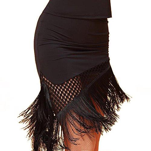 [해외]라틴 댄스 의상, 볼룸 댄스 라틴 댄스 드레스 웨어 댄스 드레스 경기 댄스 연습 치마 미니 길이 / Latin Dance costume Ballroom dance Latin dress dance wear dance dress athletic dance practice Skirt mini length