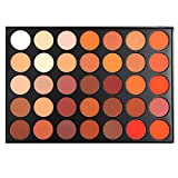 warm color palette MISKOS 35 Color All Matte Warm Pigmented 35OM Makeup Eyeshadow Palette Nature Eye Shadow Set